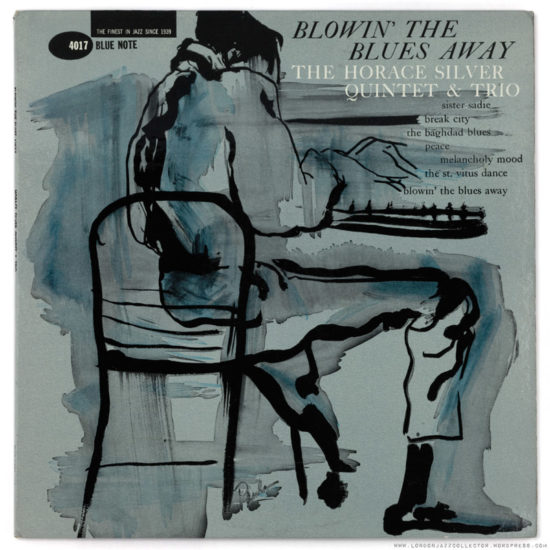 Cover of Horace Silver album Blowing Away the Blues