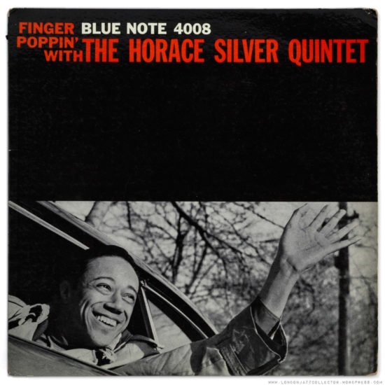 Cover of Album Finger Poppin' with the Horace Silver Quintet