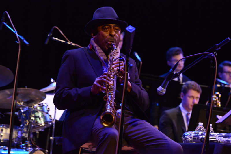 Archie Shepp in performance at Princeton University