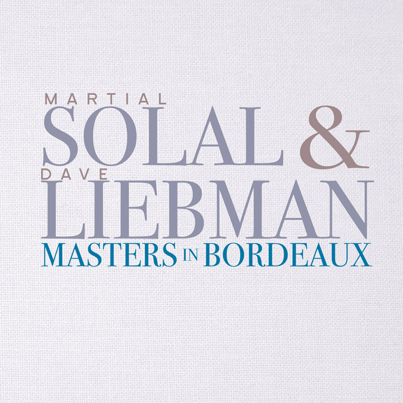 Cover of Dave Liebman & Martial Solal album Masters of Bordeaux