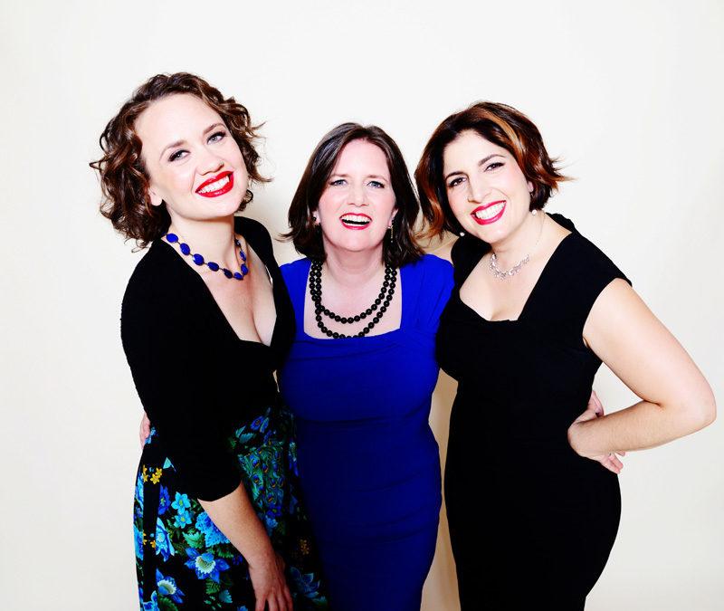 Vocal trio Duchess (photo by Shervin Lainez)