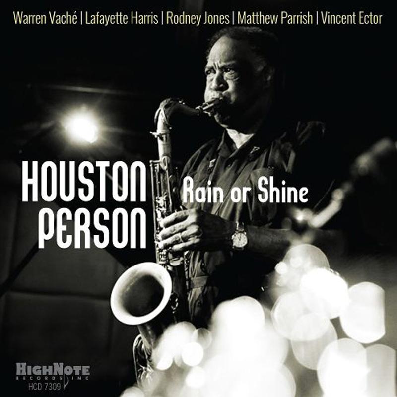 Cover of Houston Person album Rain or Shine