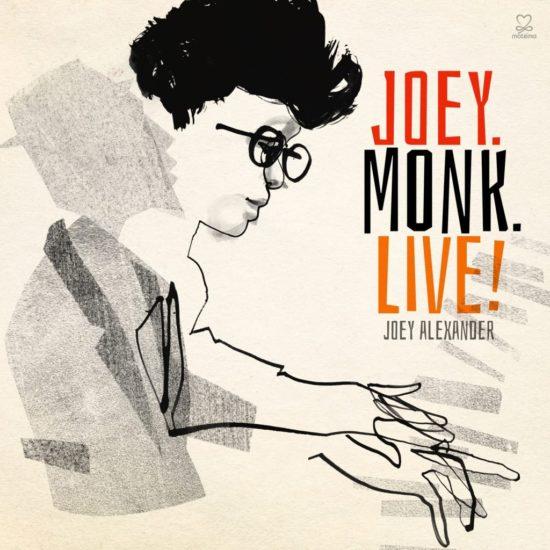"Cover of Joey Alexander's ""Joey.Monk.Live!"""