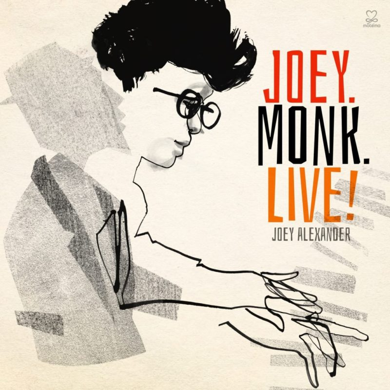 "Cover of Joey Alexander's ""Joey.Monk.Live!"""