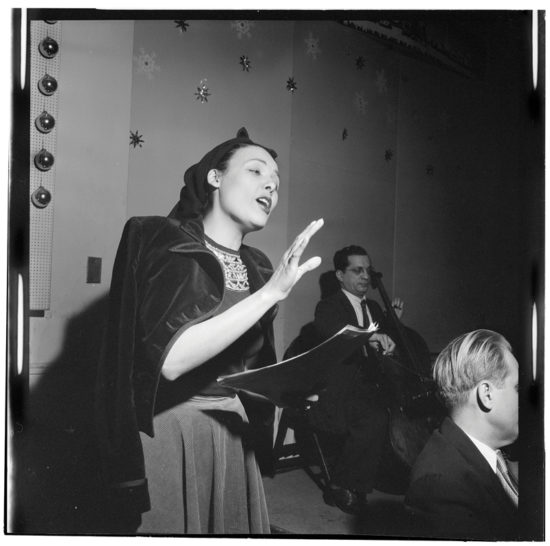 Lena Horne (photo by William F. Gottlieb c/o The Library of Congress)