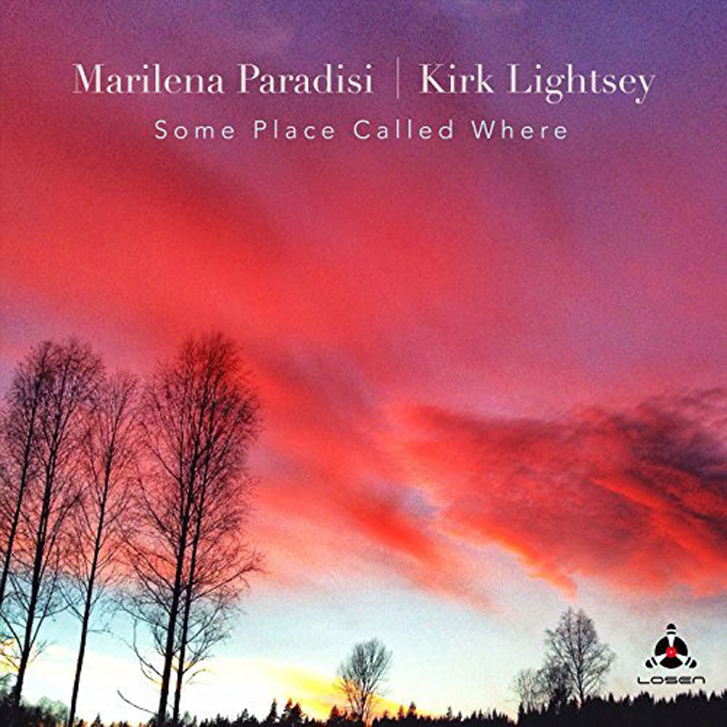 Cover of Marilena Paradisi & Kirk Lightsey album Some Place Called Where