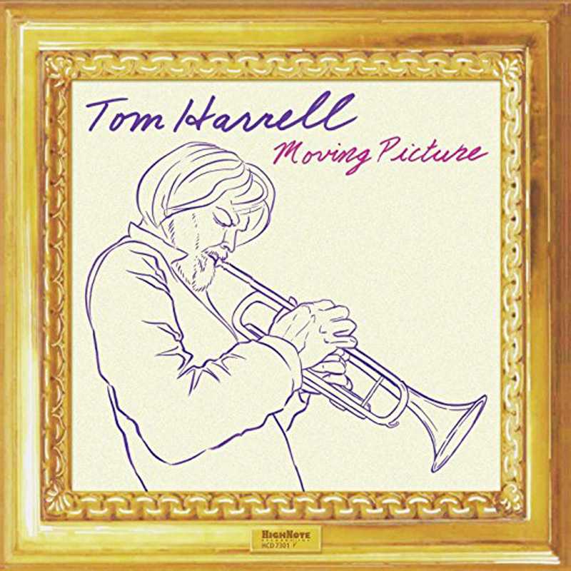 Cover of Tom Harrell album Moving Pictures