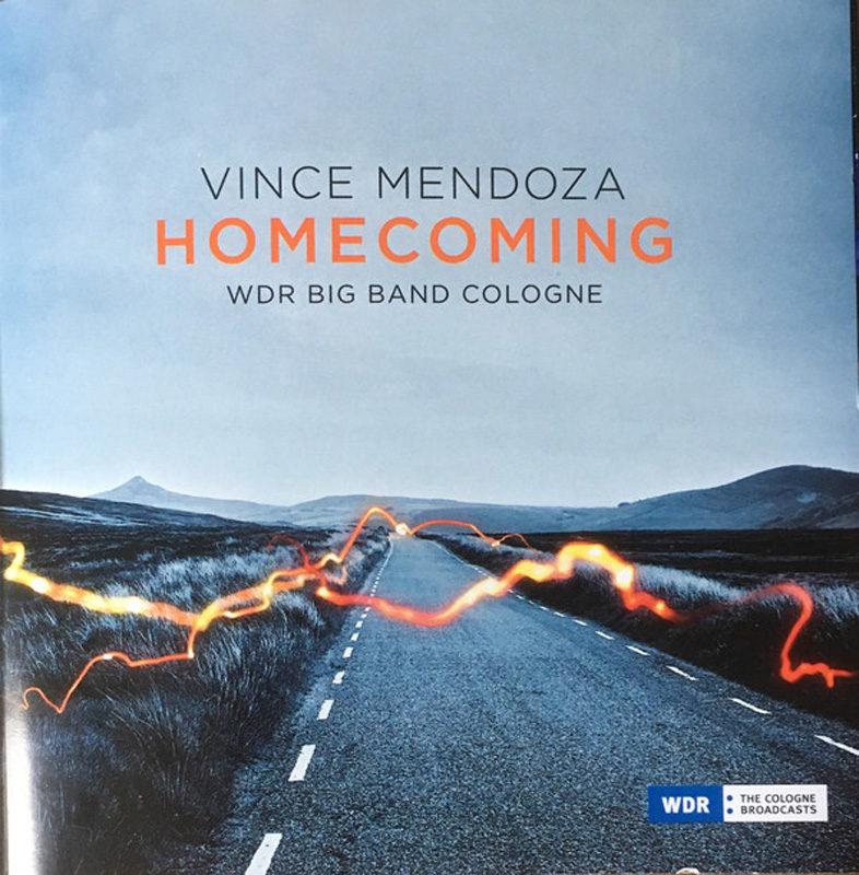 Cover of Vince Mendoza & WDR Big Band album Homecoming