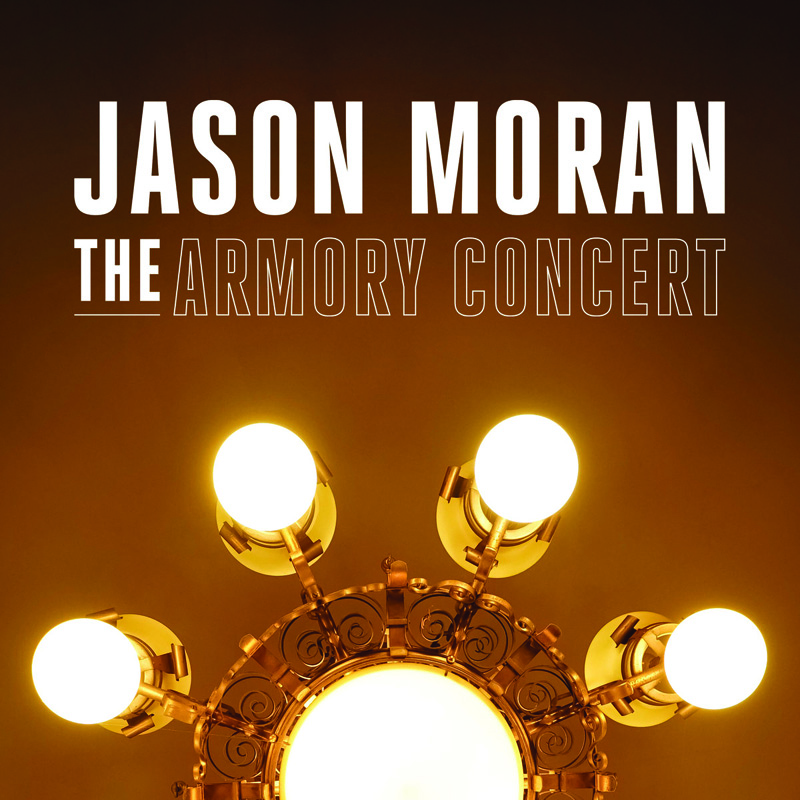 Cover of Jason Moran album The Armory Concert on Yes Records