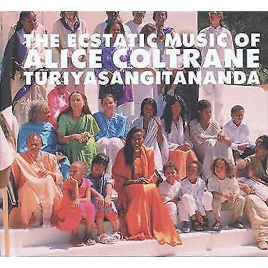 Cover of Alice Coltrane album The Ecstatic Music of Alice Coltrane