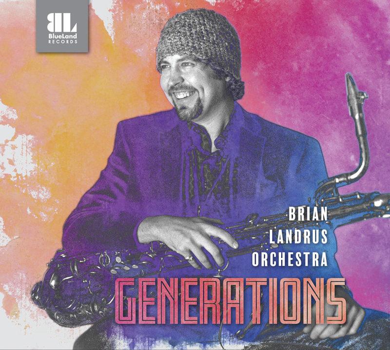 Cover of Brian Landrus Orchestra album Generations