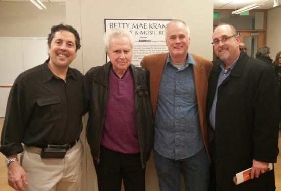 Glenn Sabin, Ira Sabin, Lee Mergner and Jeff Sabin