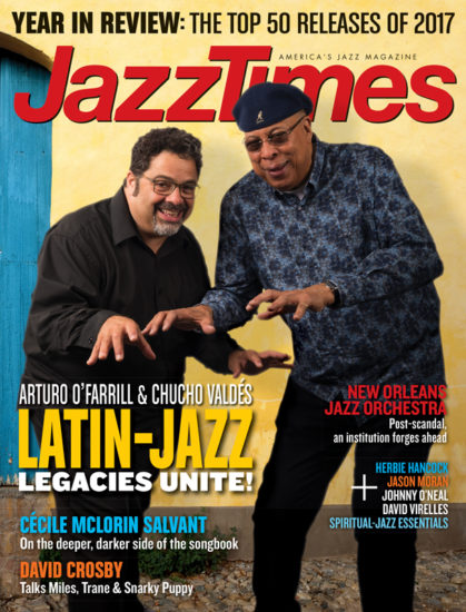 Cover of January/February 2018 issue of JazzTimes
