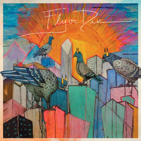 Cover of Jaimie Branch album Fly or Die
