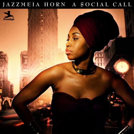 Cover of Jazzmeia Horn album Social Call