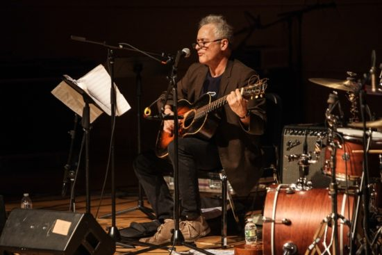 Marc Ribot fronts his Songs of Resistance at 2018 Winter Jazzfest (photo by Jati Lindsay)