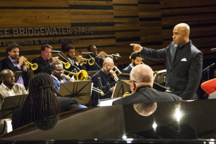 Adonis Rose, the new director of the New Orleans Jazz Orchestra (photo by Erika Goldring)