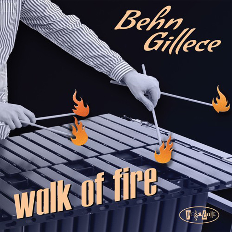 Cover of Behn Gillece album Walk of Fire