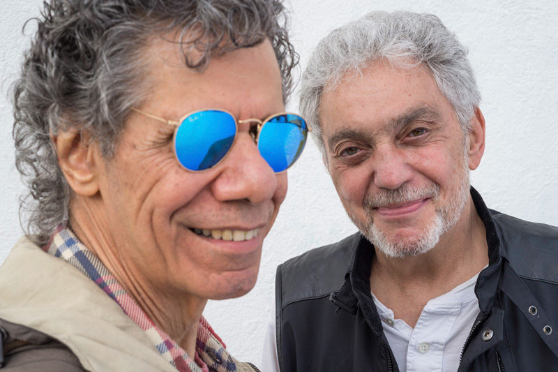 Chick Corea & Steve Gadd (photo by C. Taylor Crothers)