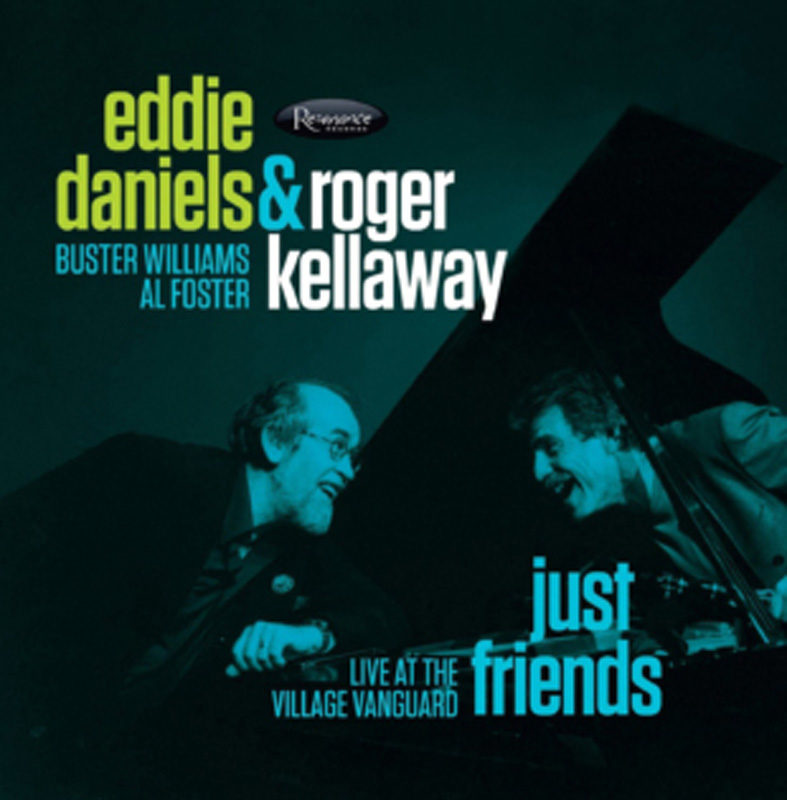 Cover of Eddie Daniels & Roger Kellaway album Just Friends