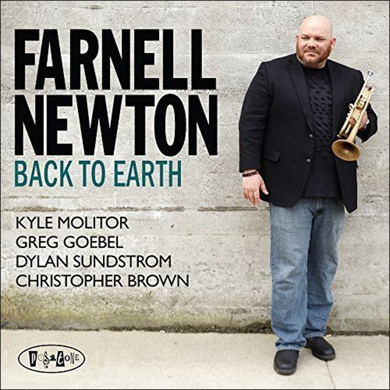 Cover of Farnell Newton album Back to Earth on Posi-Tone