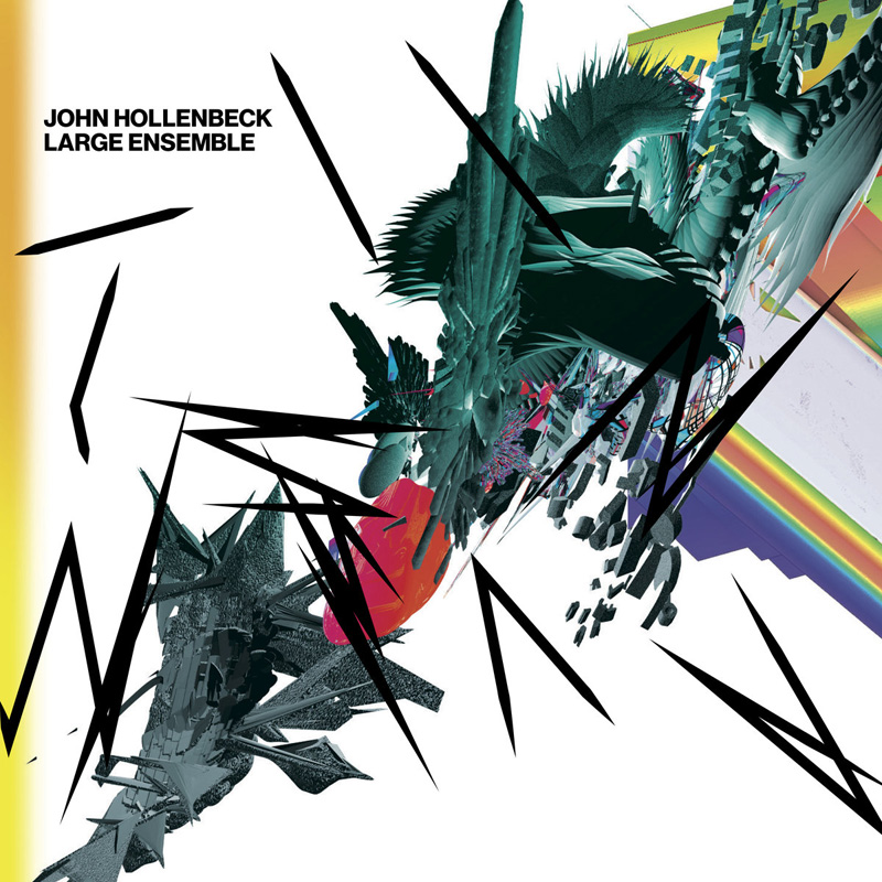 Cover of John Hollenbeck Large Ensemble album All Can Work