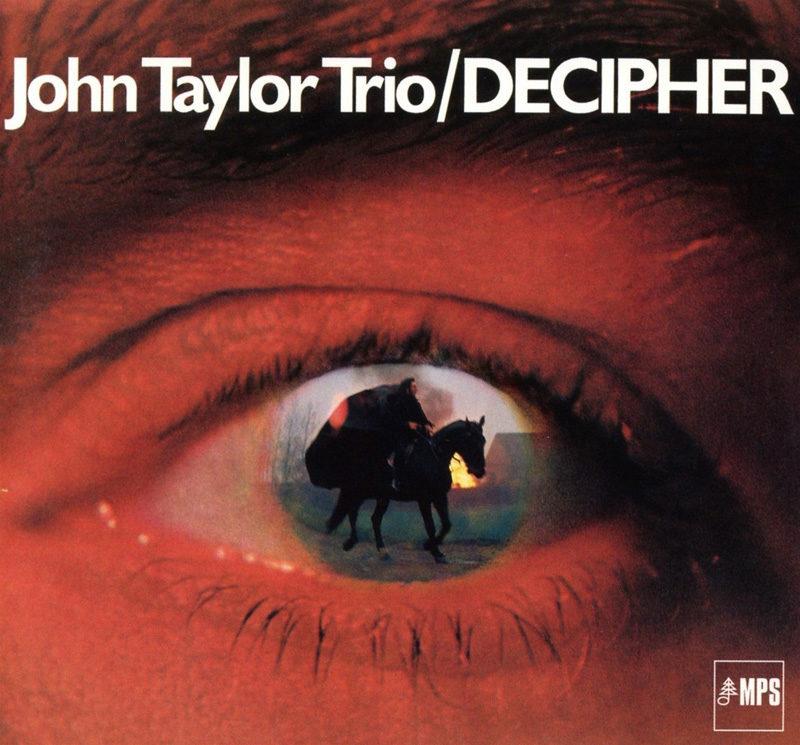 Cover of John Taylor Trio album Decipher