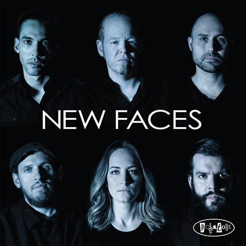Cover of New Faces album Straight Forward on Posi-Tone Records