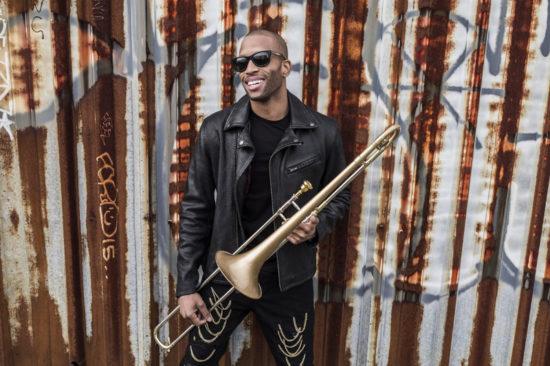 Trombone Shorty (photo by Mathieu Bitton)