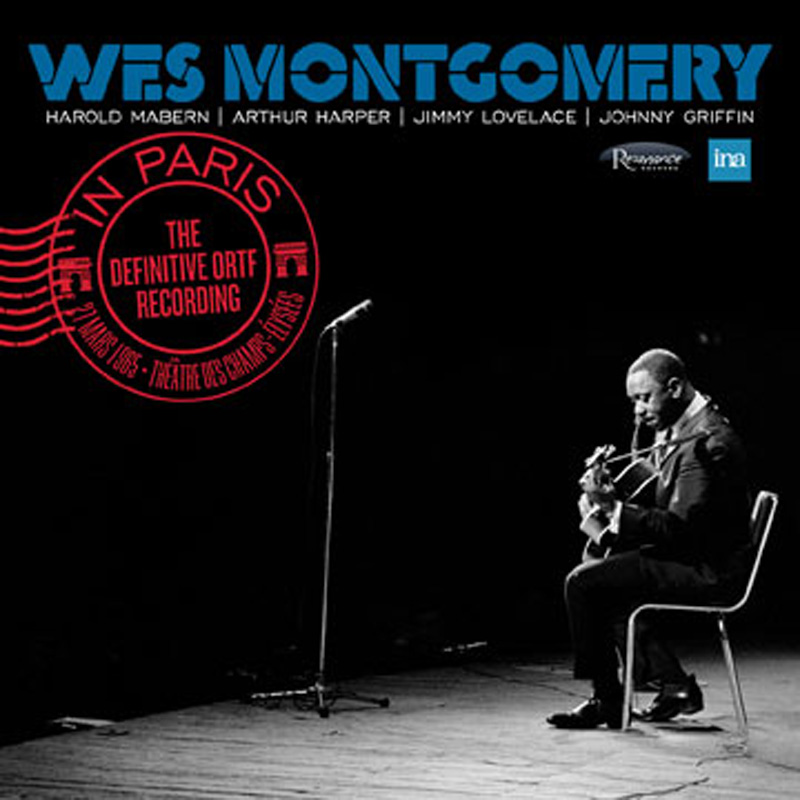 Cover of Wes Montgomery album In Paris