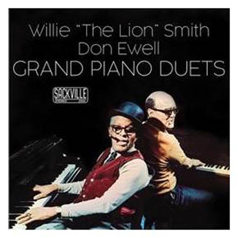 "Cover of Willie ""The Lion"" Smith & Don Ewell Grand Piano Duets album"