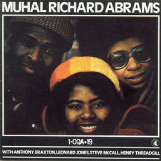 Cover of Muhal Richard Abrams album 1-OQA+19, from 1977