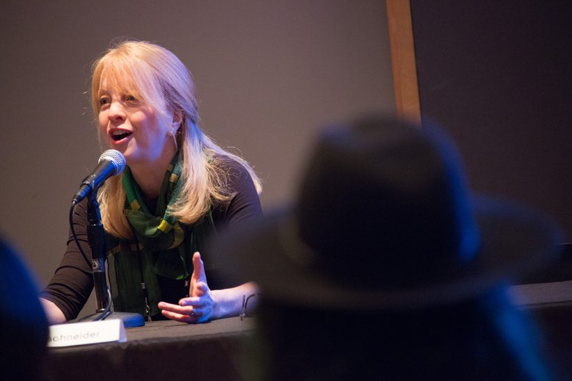 Maria Schneider at Jazz Congress (photo by Lawrence Sumulong/JALC)