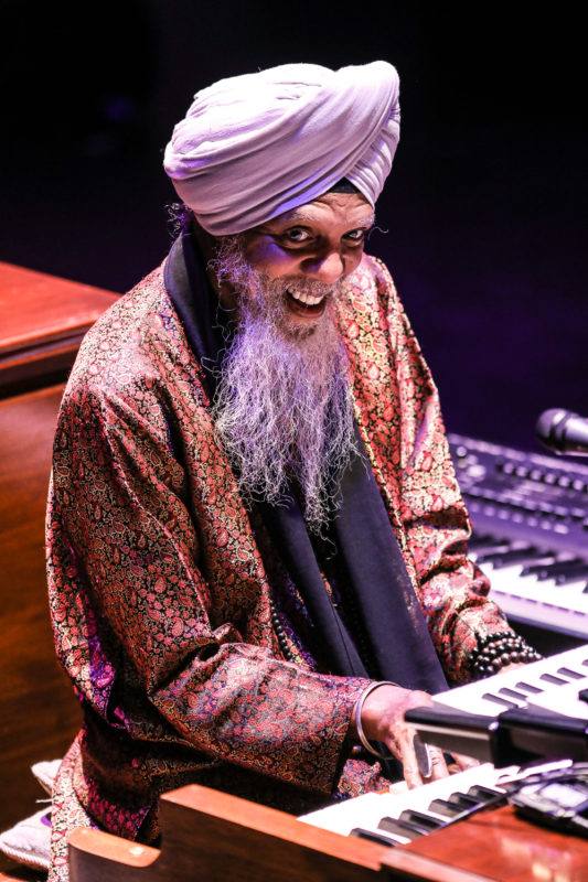 Dr. Lonnie Smith performing at the 2018 PDX Jazz Festival (photo by Mark Sheldon)