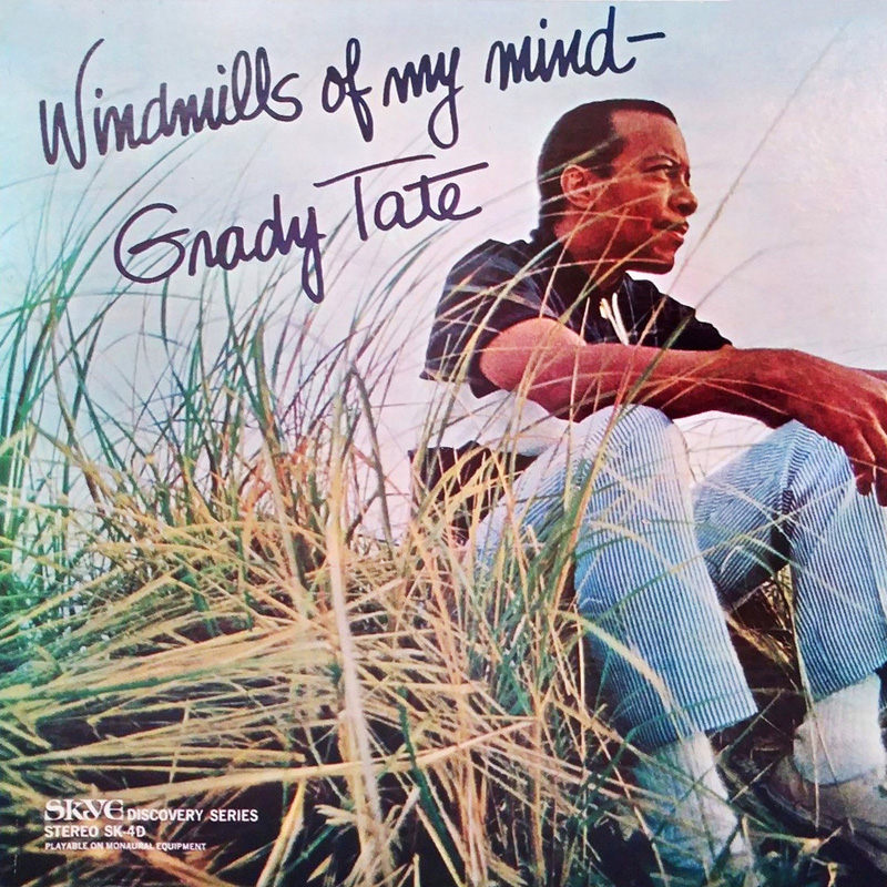 Cover of Grady Tate album Windmills of My Mind