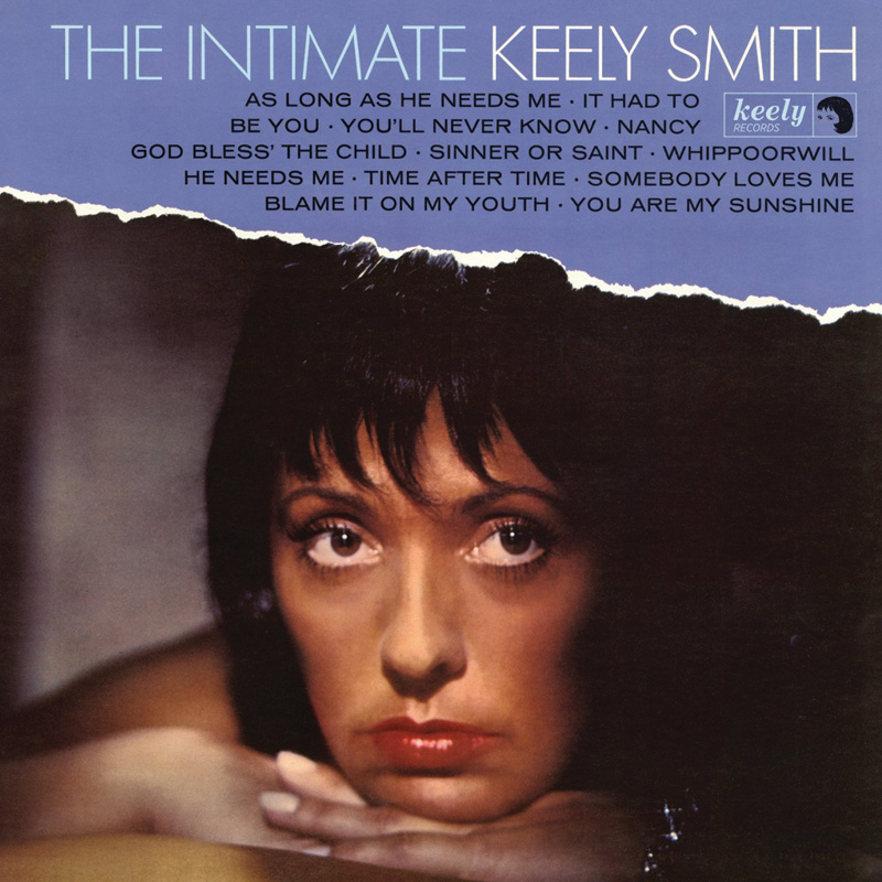 Cover of the Intimate Keely Smith album