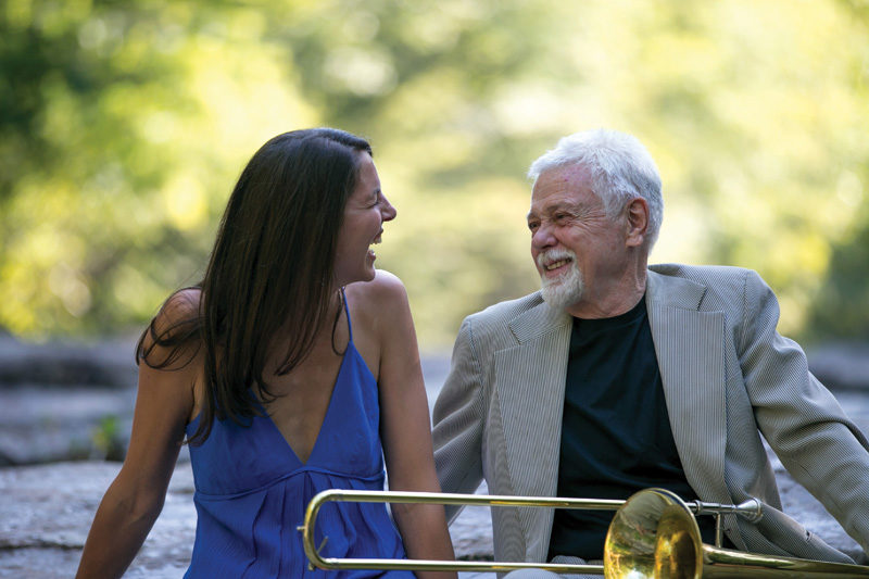 Heather Masse with Roswell Rudd