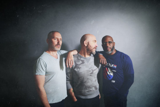 Reid Anderson, Dave King and Orrin Evans of the Bad Plus