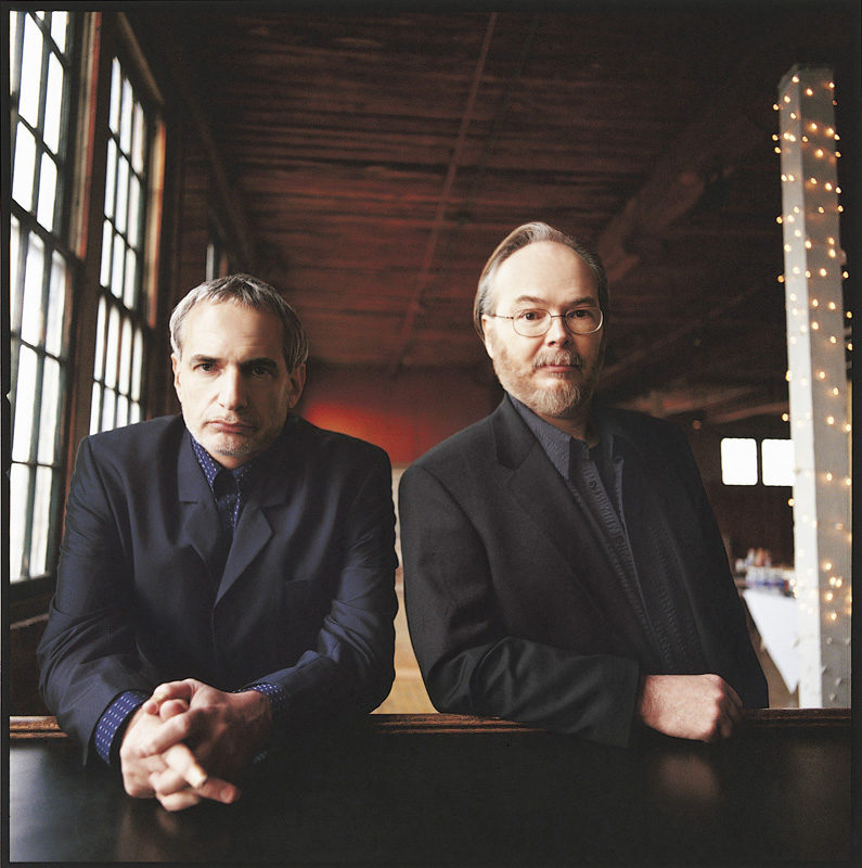 Donald Fagen and Walter Becker of Steely Dan
