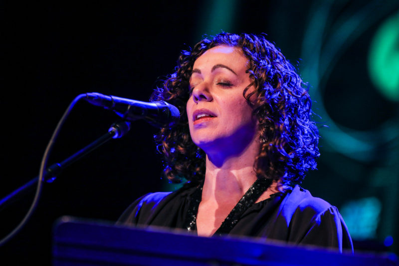 Luciana Souza performing at the 2018 PDX Jazz Festival (photo by Mark Sheldon)