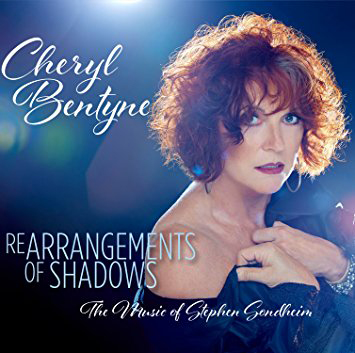 Cover of Cheryl Bentyne album Rearrangements of Shadows: The Music of Stephen Sondheim