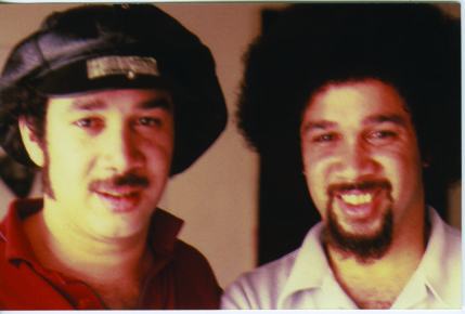 Michael Cosmic (left) and Phill Musra