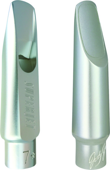 JodyJazz SUPER JET Tenor silver-plated brass mouthpiece