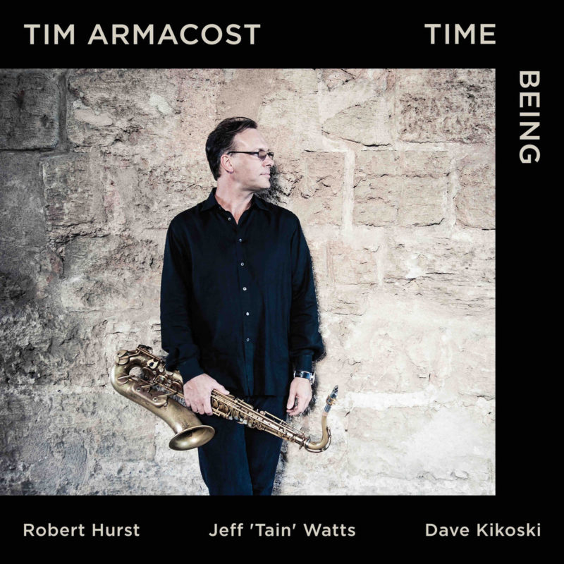 Cover of Tim Armacost album Time Being