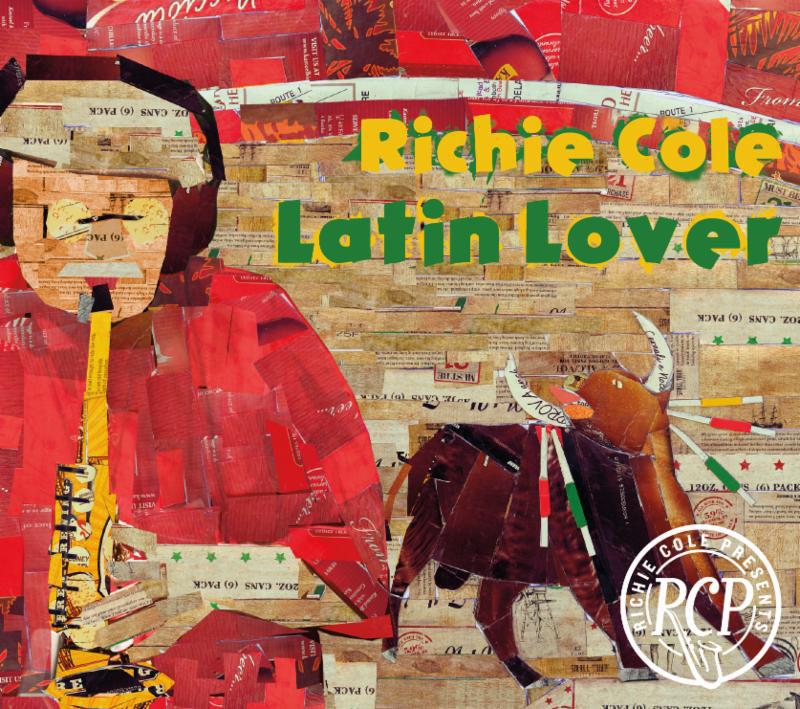 Cover of Richie Cole album Latin Lover