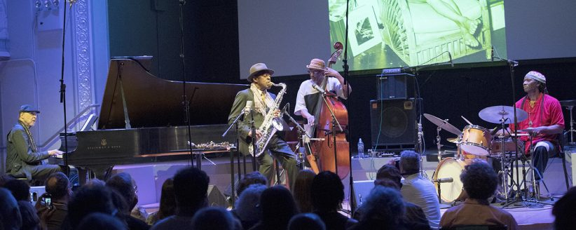 The Archie Shepp Quartet at Roulette, May 23, 2018
