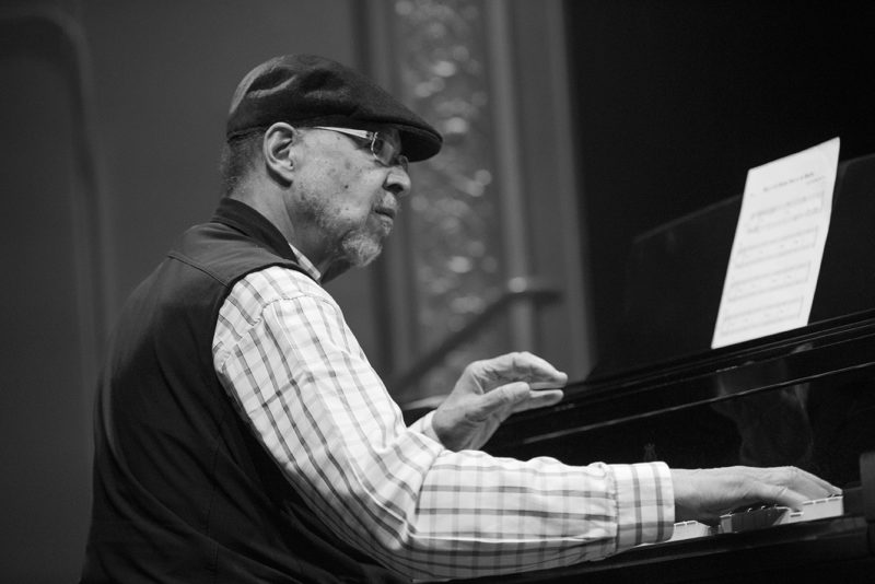 Dave Burrell performs with the Visionary Youth Orchestra at Roulette, May 26, 2018
