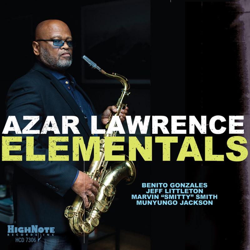 Cover of Azar Lawrence album Elementals