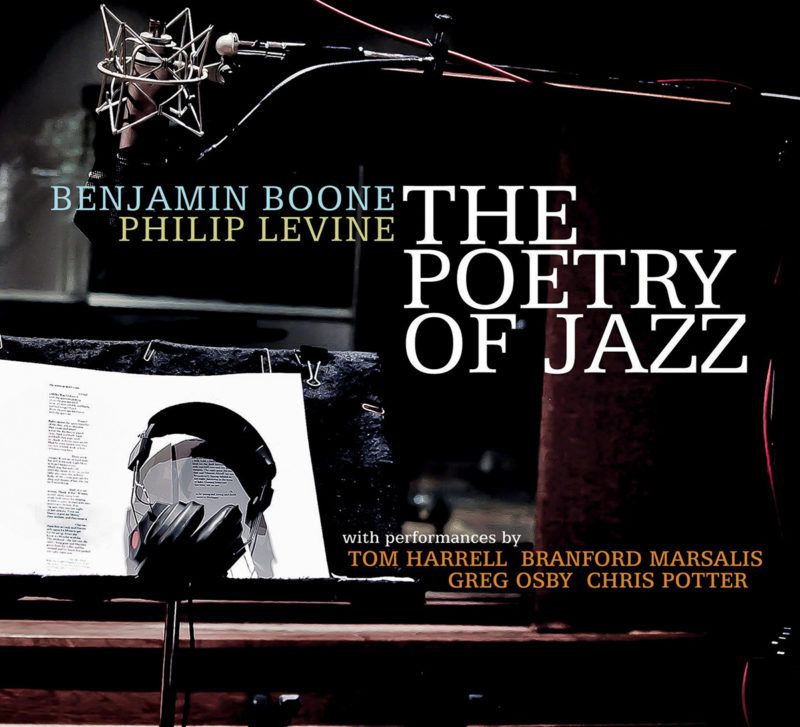 Cover of Benjamin Boone/Philip Levine album The Poetry of Jazz