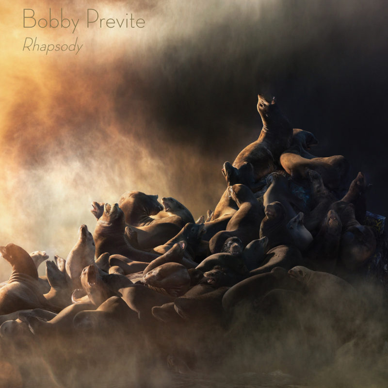 Cover of Bobby Previte album Rhapsody